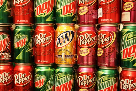 high fructose corn syrup drinks
